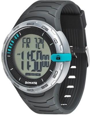 Sonata 77041PP01J Digital Watch