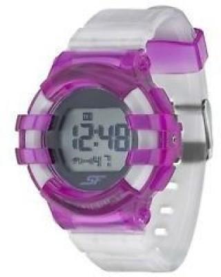 Sonata 87017PP04  Digital Watch For Women