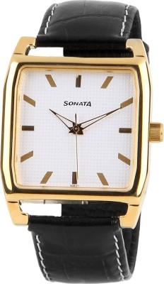 Sonata 77044PP05 Watch  - For Men