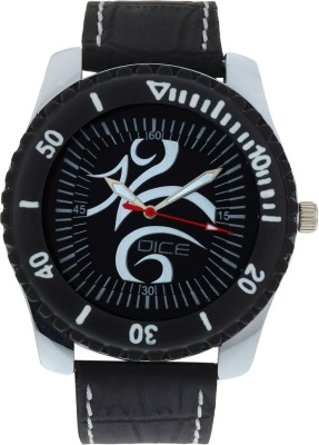 DICE Trendy black Analog Watch   For Men DICE Wrist Watches