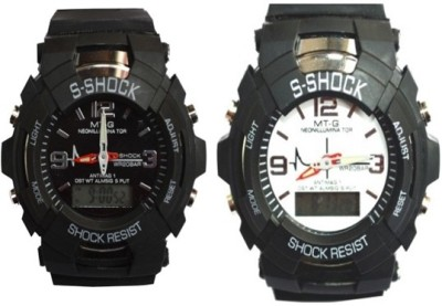 S Shock SPORT S01  Analog-Digital Watch For Boys