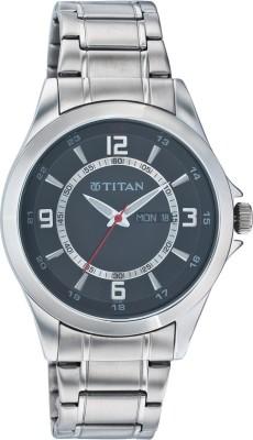 Titan NC9323SM04A Octane Analog Watch   For Men Titan Wrist Watches