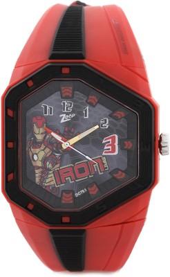 Zoop C3036PP13 Iron Man Analog Watch For Kids