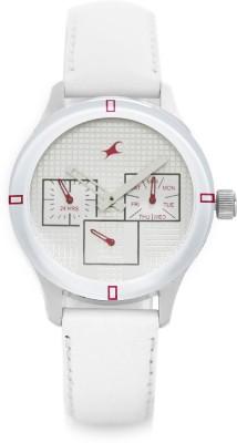 Fastrack NE6078SL10 Analog Watch