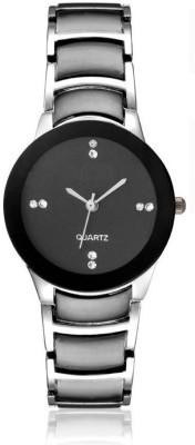 SPINOZA Silver Black metal belt beautiful luxury Analog Watch   For Girls SPINOZA Wrist Watches