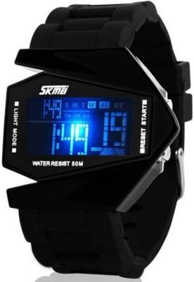 SKMEI 0817B Black Digital Watch   For Men   Women SKMEI Wrist Watches