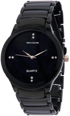 TRUE COLORS MAN IN BLACK Unique IIK Collection Analog Watch   For Men TRUE COLORS Wrist Watches
