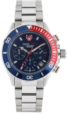 Swiss Eagle SE-9080B-SS-02-SM  Analog Watch For Unisex