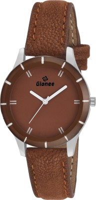 Gionee g022 Complete Brown Round Dial Analog Casual Wrist Watch  - For Girls