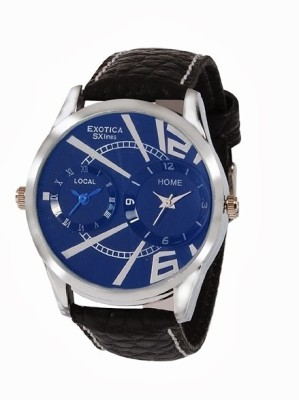 Exotica SXlines EF 80 Dual Blue Analog Watch    For Men available at Flipkart for Rs.799