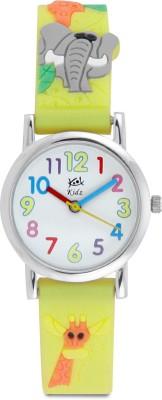 Kool Kidz DMK-001-YL 01  Analog Watch For Girls