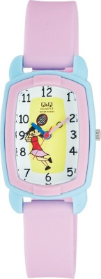 Q&Q VQ61 - 010  Analog Watch For Kids