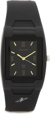 Sonata NH7920PP13CJ Super Fibre Analog Black Dial Men's Watch (NH7920PP13CJ)