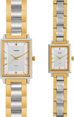 Timex PR159 Formals Analog Watch For Couple