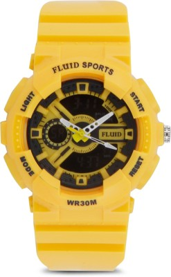 Fluid DMF-004-YL01  Analog-Digital Watch For Boys