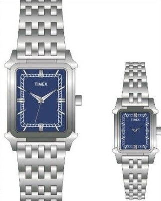 Timex PR102  Analog Watch For Couple