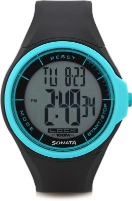 SONATA NH7992PP12J By Sonata Digital Watch   For Men SONATA Wrist Watches