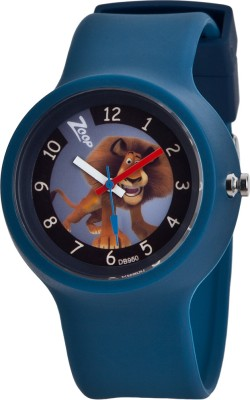 Zoop C3029PP03 Madagascar Analog Watch For Kids