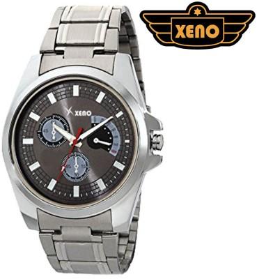 Xeno ZDRE00016 Silver Metal Men Analog Watch  - For Men
