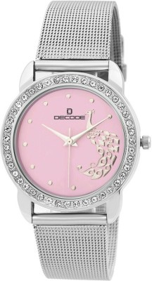 Decode LR-CH0018 PINK  Analog Watch For Boys