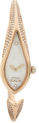 Titan NH9812WM01 Raga Analog Watch - For Women