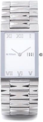 Titan Edge 1296SM01 Analog White Dial Men's Watch
