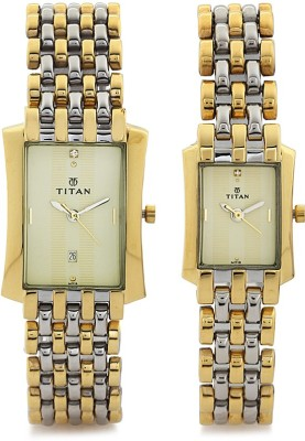 Titan NC19642964BM01 Watch  - For Couple