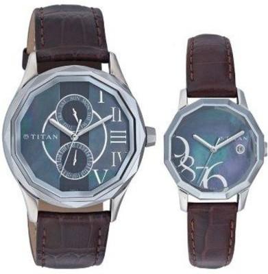 Titan 19622962SL01  Analog Watch For Couple