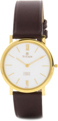 Titan NH679YL01 Edge Watch  - For Men at flipkart