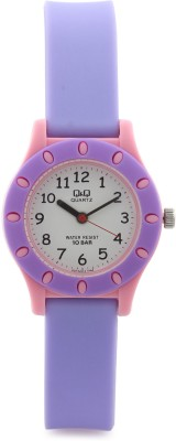 Q&Q VQ13J014Y  Analog Watch For Girls