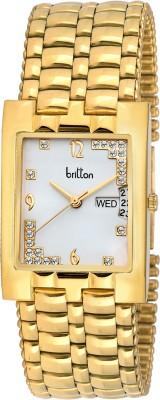 Britton BR-GSQ051-SLV-GLD  Analog Watch For Men