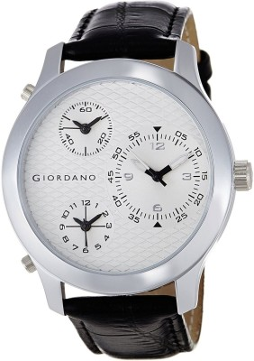 Giordano 60067 WHITE  Analog Watch For Men