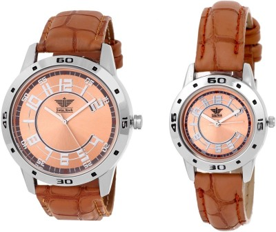 Swiss Rock BRW-CPL/01  Analog Watch For Couple