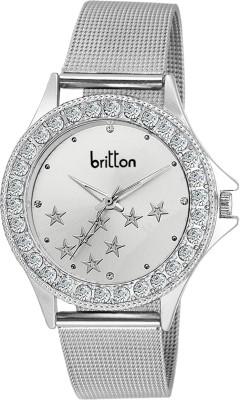 Britton BR-LR001-WHT-CH  Analog Watch For Girls