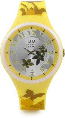 Q&Q GW77J007Y  Analog Watch For Girls