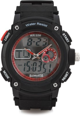SONATA NH7989PP03 By Sonata Analog Digital Watch   For Men SONATA Wrist Watches