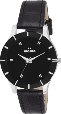 Marco MR-LR-65 BLACK  Analog Watch For Women