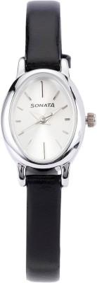 Sonata 8100SL01C Analog Watch - For Women