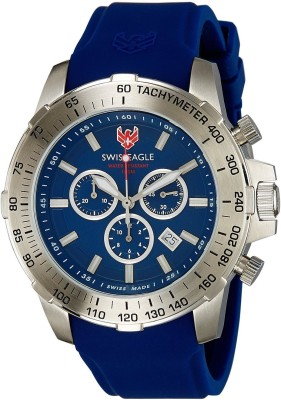 Swiss Eagle SE-9065-03 Watch  - For Men at flipkart
