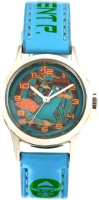 Disney 3K0906U-PF (BLUE)  Analog Watch For Kids