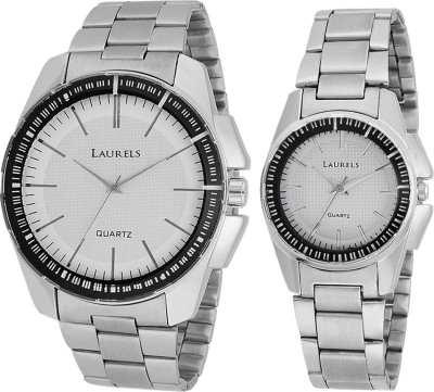 Laurels LO-AGST-0107C August Analog Watch For Couple