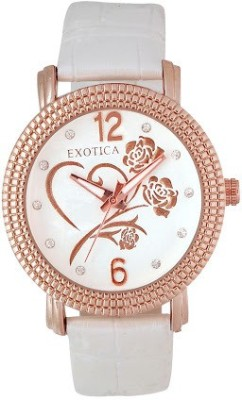EXOTICA Fashions EFL 704 White Basic Analog Watch   For Women EXOTICA Fashions Wrist Watches