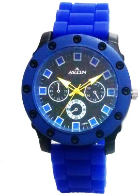 Faas Digital Black & Grey Dial Sports Watch With Alarm Watch  - For Boys & Girls