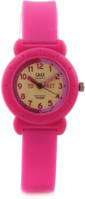 Q&Q VP81J015Y Klassik Analog Watch For Girls