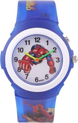 Devars H3033-DBL-SPIDERMAN-3 Fashion Analog Watch For Boys