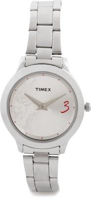 Timex TI000T60000 Fashion Analog Silver Dial Women's Watch (TI000T60000)