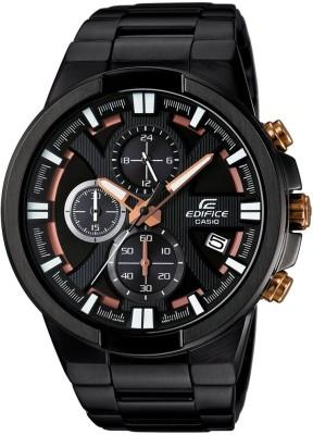 CASIO EX230 Edifice ( EFR-544BK-1A9VUDF ) Analog Watch - For Men