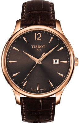 Image of Tissot T063.610.36.297.00 Tradition Analog Watch - For Men