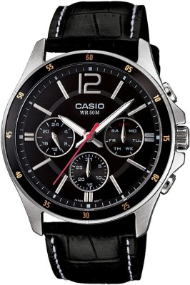 Casio A834 Enticer Men's   MTP 1374L 1AVDF   Analog Watch   For Men Casio Wrist Watches