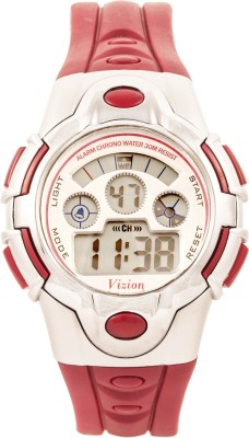 Vizion 8501B-1MAROON Sports Series Digital Watch For Boys